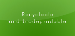 Recyclable and biodegradable